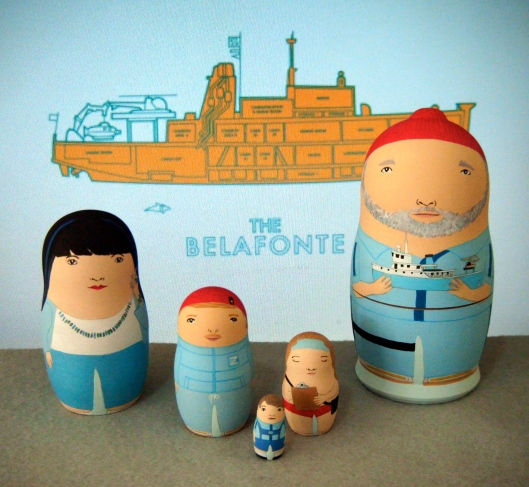 Life Aquatic cast